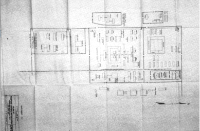 Ishii Shiro's hand drawn map of Unit 731